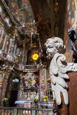 Bayern Photograph - Germany, Bavaria, Munich, Assamkirche by Walter Bibikow