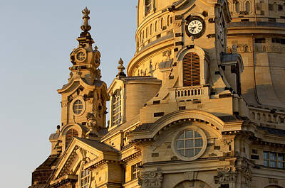 Germany, Saxony, Dresden, Frauenkirche Art Print by Tips Images