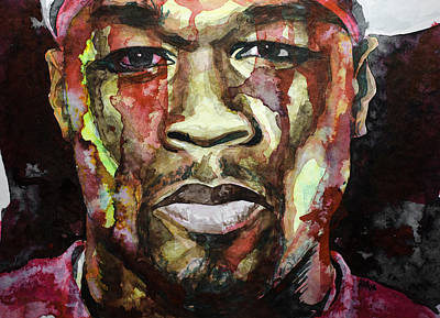 Slim Shady Painting - Get Rich Or Die Tryin' by Laur Iduc