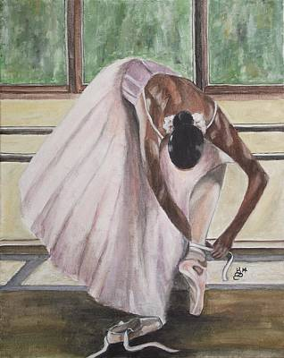 Painting - Getting Ready II by Kim Selig