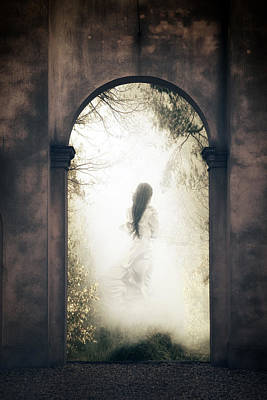 Spook Photograph - Ghost by Joana Kruse
