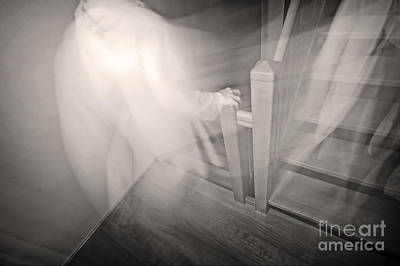 Paranormal Photograph - Ghost by Michal Bednarek