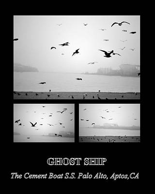 Photograph - Ghost Ship by AJ  Schibig