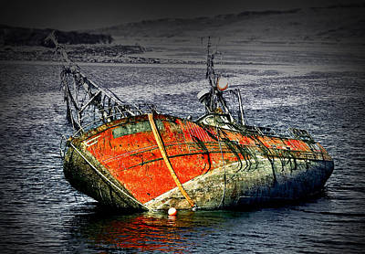 Photograph - Ghost Ship by Jane McIlroy