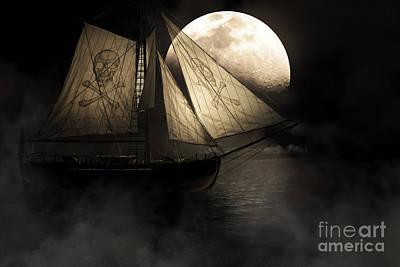 Pirate Ship Photograph - Ghost Ship by Jorgo Photography - Wall Art Gallery