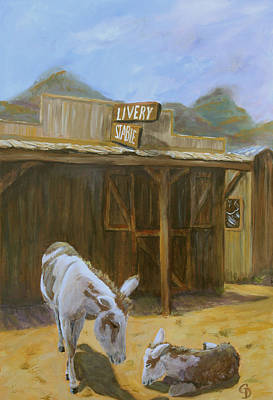 Painting - Ghost Town by Gail Daley