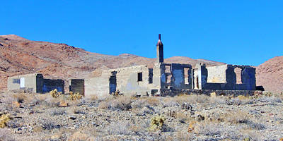 Photograph - Ghost Town Ruins by Marilyn Diaz