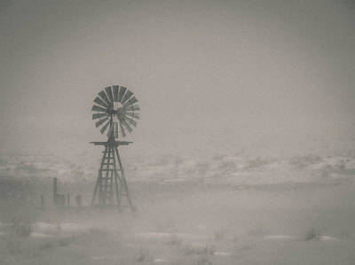 Photograph - Ghost Windmill by Angelique Rea