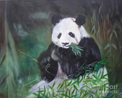 Giant Panda 1 Art Print