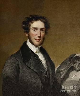Mantell Photograph - Gideon Mantell, Paleontologist, 1837 by Paul D. Stewart
