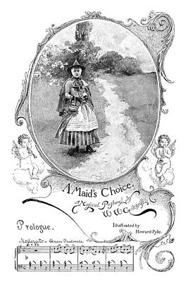 Drawing - Gilchrist A Maid's Choice by Granger