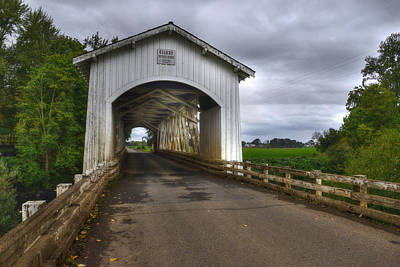 Photograph - Gilky Covered Bridge by Patricia Dennis