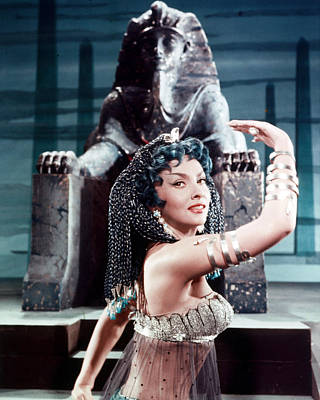 Gina Photograph - Gina Lollobrigida In Solomon And Sheba  by Silver Screen