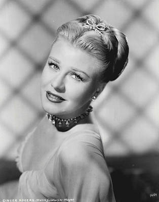 Katherine Photograph - Ginger Rogers by Retro Images Archive
