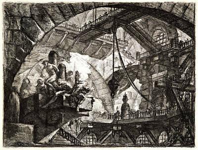 Giovanni Battista Piranesi Italian, 1720 - 1778. Prisoners Art Print by Litz Collection