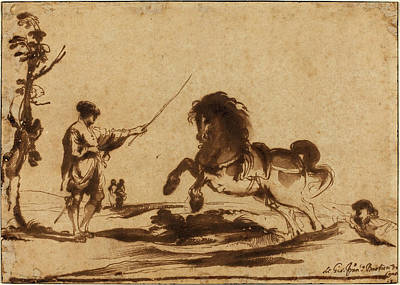 Giovanni Francesco Barbieri Drawing - Giovanni Francesco Barbieri, Called Guercino Italian by Quint Lox