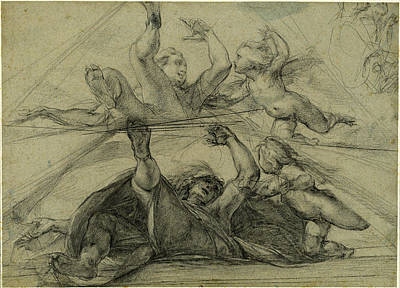 Cesare Painting - Giulio Cesare Procaccini Italian, 1574 - 1625 by Quint Lox