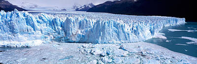 Cold Temperature Photograph - Glacier, Moreno Glacier, Argentine by Panoramic Images