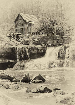 Photograph - Glade Creek Grist Mill by Harold Rau