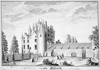 Indian Ink Photograph - Glamis Castle by British Library