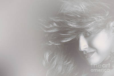 Glamorous Girl With Luxury Salon Hair Style Art Print by Jorgo Photography - Wall Art Gallery