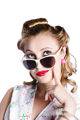 Youthful Photograph - Glamorous Woman In Sunglasses by Jorgo Photography - Wall Art Gallery
