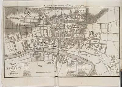 Glasgow Print by British Library