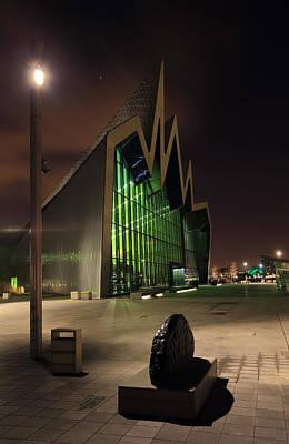 Night Scenes Photograph - Glasgow Transport Museum by Grant Glendinning