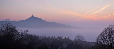 Photograph - Glastonbury Tor From Wearyall Hill by Nick Cable