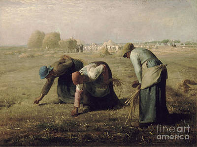 Gleaners Painting - Gleaners by Celestial Images