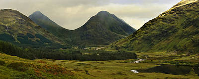 Photograph - Glen Etive Highlands Of Scotland by Jane McIlroy