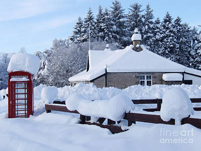 Photograph - Glenlivet Snow by Phil Banks