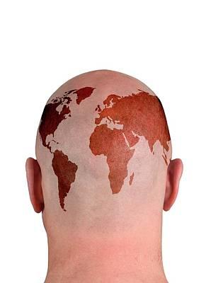 Global Thinking Art Print