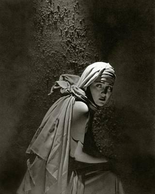 Gloria Swanson In Character Art Print by Edward Steichen