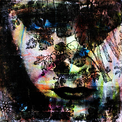Gloria Swanson Mixed Media - Gloria Swanson by Penelope Stephensen
