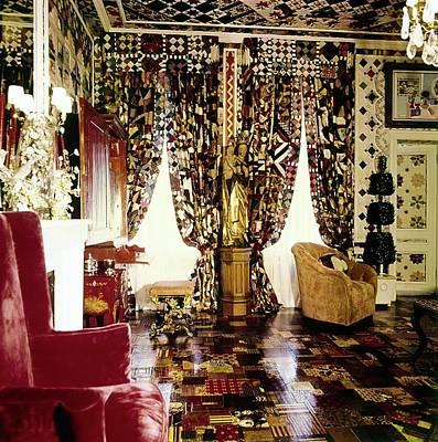 Room Photograph - Gloria Vanderbilt's Bedroom by Horst P. Horst