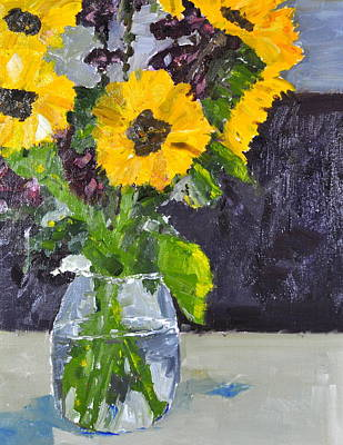 Painting - Glorious Sunflowers by MaryAnne Ardito