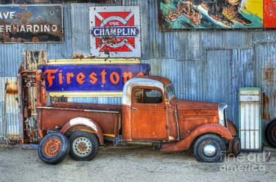 Old Trucks Photograph - Glory Days by Bob Christopher