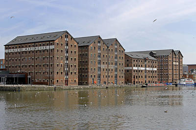 Photograph - Gloucester Docks by Tony Murtagh