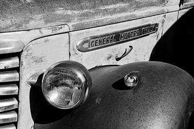 Photograph - Gmc Truck Side Emblem by Jill Reger