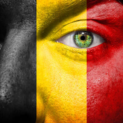 Photograph - Go Belgium by Semmick Photo