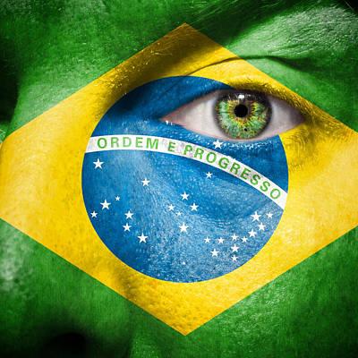 Photograph - Go Brasil by Semmick Photo
