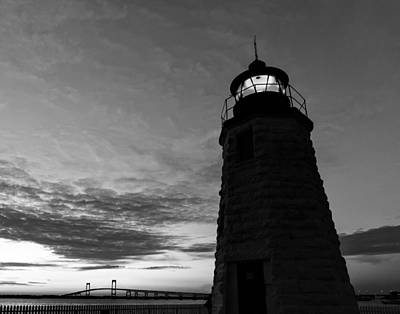 Photograph - Goat Island Lighthouse by Marianne Campolongo