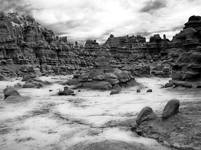 Photograph - Goblin Valley by Tarey Potter