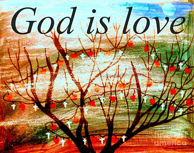 Painting - God Is Love  by Amanda Dinan