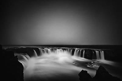 Photograph - Godafoss by Frodi Brinks