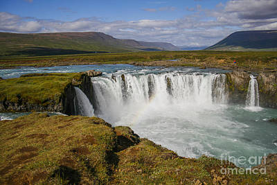 Photograph - Godafoss Waterfall by Patricia Hofmeester
