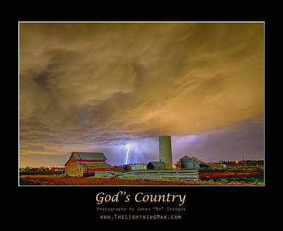 Photograph - God's Country  by James BO Insogna