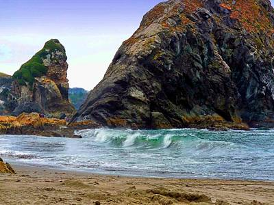 Photograph - Gold Beach Oregon by Robert Roland