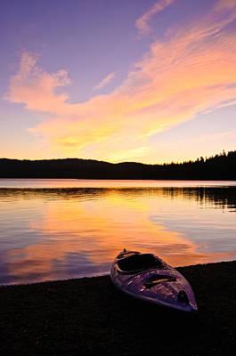 Photograph - Gold Lake Sunrise by Sherri Meyer